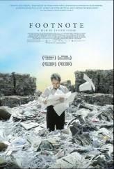 Footnote (2011) afişi