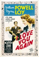 I Love You Again (1940) afişi