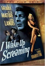 I Wake Up Screaming (1941) afişi