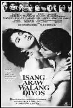 Isang Araw Walang Diyos (1989) afişi