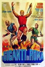 I Giganti Di Roma (1964) afişi