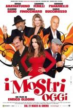 ı Mostri Oggi (2009) afişi