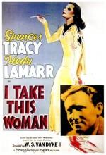 I Take This Woman (1940) afişi