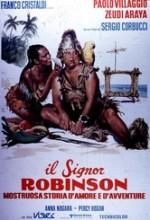 Il Signor Robinson, Mostruosa Storia D'amore E D'avventure (1976) afişi