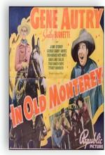 ın Old Monterey (1939) afişi