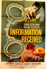 Information Received (1961) afişi