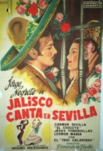 Jalisco Canta En Sevilla (1949) afişi