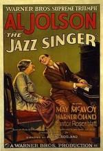 Jazz Singer (1927) afişi