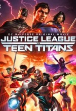 Justice League vs. Teen Titans (2016) afişi