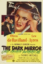 Karanlık Ayna (1946) afişi
