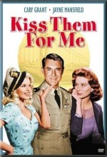 Kiss Them For Me (1957) afişi