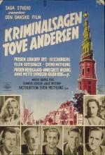 Kriminalsagen Tove Andersen (1953) afişi