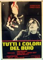 Karanlığın Bütün Renkleri (1972) afişi