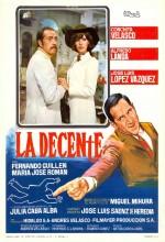 La Decente (1971) afişi