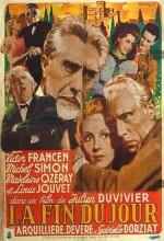 La Fin Du Jour (1939) afişi