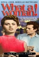 La Fortuna Di Essere Donna (1956) afişi