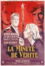 La Minute De Vérité (1952) afişi