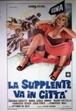 La Supplente Va In Città (1979) afişi