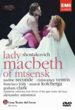 Lady Macbeth of Mtsensk (1992) afişi
