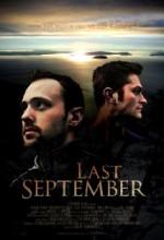 Last September (2008) afişi