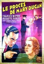 Le Procès De Mary Dugan (1930) afişi