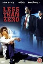 Less Than Zero (1987) afişi