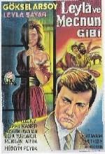 Leyla İle Mecnun Gibi (1963) afişi