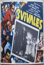 Los Tres Vivales (1958) afişi
