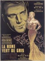 La môme vert de gris (1953) afişi