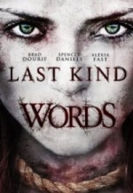 Last Kind Words (2012) afişi