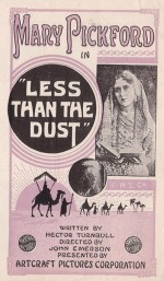 Less Than The Dust (1916) afişi