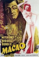 Macao (1952) afişi