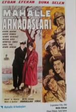 Mahalle Arkadaşları (1961) afişi