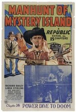 Manhunt Of Mystery Island (1945) afişi