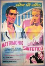 Matrimonio Sintético (1948) afişi