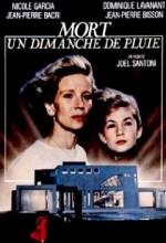 Mort Un Dimanche De Pluie (1986) afişi