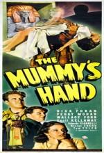 Mumya'nın Eli (1940) afişi