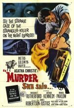 Murder She Said (1961) afişi