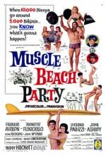 Muscle Beach Party (1964) afişi