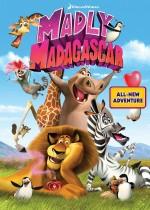 Madly Madagascar (2013) afişi