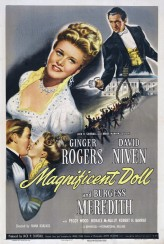Magnificent Doll (1946) afişi