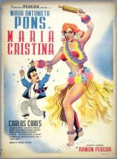 María Cristina (1951) afişi