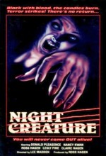 Night Creature (1978) afişi