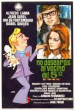 No Desearás Al Vecino Del Quinto (1970) afişi
