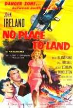 No Place To Land (1958) afişi