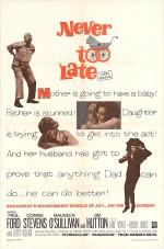 Never Too Late (1965) afişi