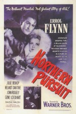 Northern Pursuit (1943) afişi