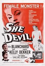 O şeytan (1957) afişi