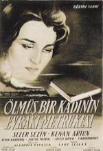 Ölmüş Bir Kadının Evrakı Metrukesi (1956) afişi