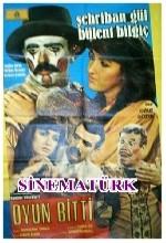 Oyun Bitti (1985) afişi